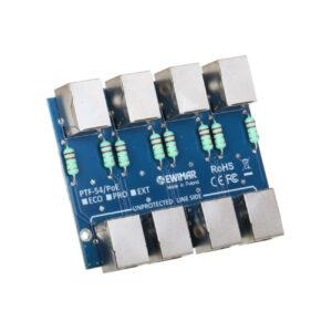 Moduł ogranicznika przepięć sieci LAN serii ECO EWIMAR PTF-54-ECO/PoE