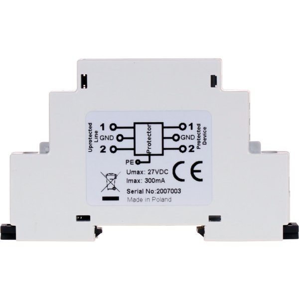 Ogranicznik przepięć wejść i wyjść cyfrowych EWIMAR SUG-7-DIN / IO24