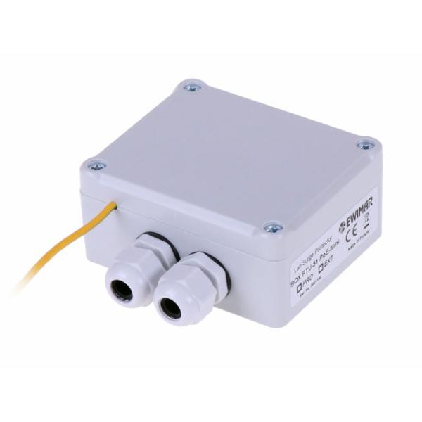 Urządzenie ochronne sieci LAN w obudowie zewnętrznej Ethernet EWIMAR BOX PTU-51- EXT/PoE/MINI