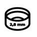 Obiektyw 2.8 mm