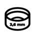 Obiektyw 3.6 mm