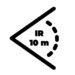 Zasięg IR 10 m