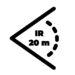Zasięg IR 20 m