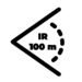 Zasięg IR 100 m