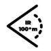 Zasięg IR powyżej 100 m